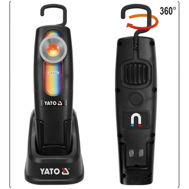 Lempa dažų parinkimui YATO 5