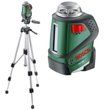 Linijinis lazerinis nivelyras Bosch PLL 360 SET