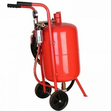 Mobili smėliapūtė ant ratukų 38L (10 galonų) Essen Tools 2