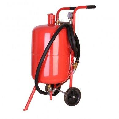 Mobili smėliapūtė ant ratukų 76L (20 galonų) Essen Tools 4