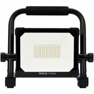 Nešiojama darbo LED lempa 10W 900LM YATO 2