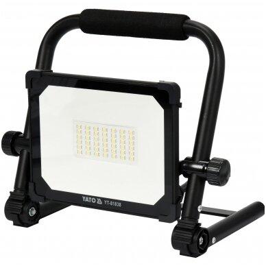 Nešiojama darbo LED lempa 10W 900LM YATO