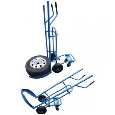 Padangų ir ratų transportavimo vežimėlis 200kg