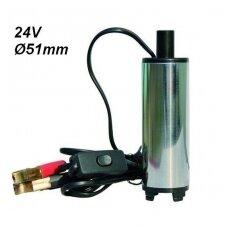 Panardinama dyzelino pompa 24V Ø51mm