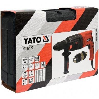 Perforatorius SDS PLUS 850W (2 griebtuvai) YATO 6
