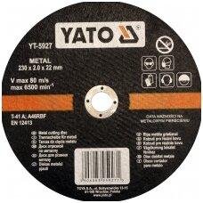 Pjovimo diskas metalui 230x2x22.2mm YATO