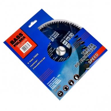 Pjovimo diskas aliuminiui Ø210mm BASS 3