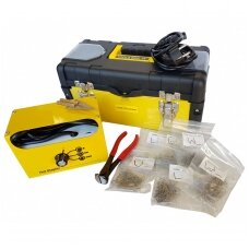 Plastiko remonto prietaisas +600vnt. kabių ESSEN Tools
