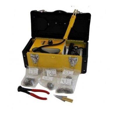 Plastiko remonto prietaisas +600vnt. kabių ESSEN Tools 2
