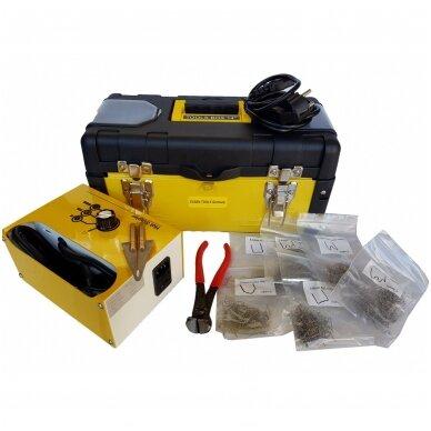 Plastiko remonto prietaisas +600vnt. kabių ESSEN Tools 5