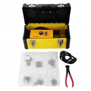 Plastiko remonto prietaisas/sistema +600vnt. kniedžių Essen Tools 3
