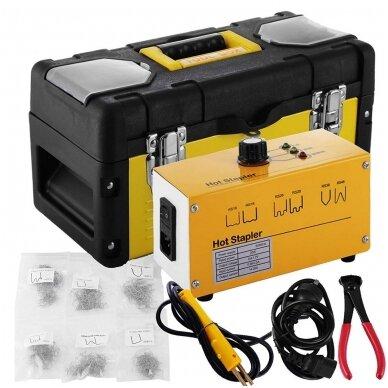 Plastiko remonto prietaisas/sistema +600vnt. kniedžių Essen Tools