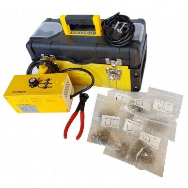 Plastiko remonto prietaisas/sistema +600vnt. kniedžių Essen Tools 2