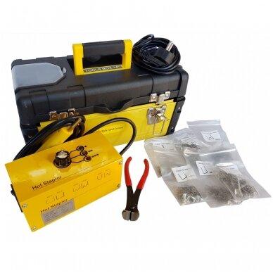 Plastiko remonto prietaisas/sistema +600vnt. kniedžių Essen Tools 5