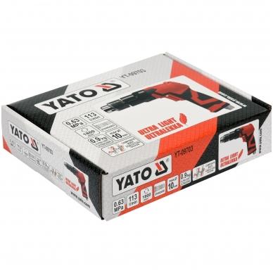 Pneumatinis gręžtuvas 10mm YATO 5