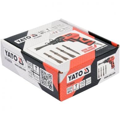 Pneumatinis plaktukas su kaltais YATO 3