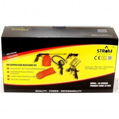 Pneumatinių įrankių rinkinys 5vnt. STROM 2
