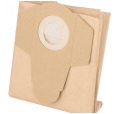 Popieriniai maišai dulkių siurbliams, 25L 5vnt.