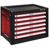 Profesionali įrankių spintelė su 6 stalčiais YATO