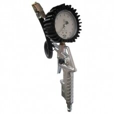 Pripūtimo pistoletas su manometru 10 bar