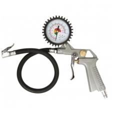 Pripūtimo pistoletas su manometru