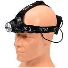 Prožektorius ant galvos XM-L2 CREE 10W LED YATO