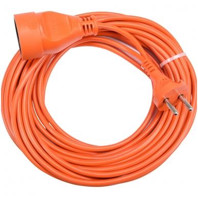 Prailginimo kabelis su lizdu 2x1 mm² 10m 2