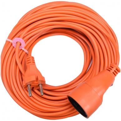 Prailginimo kabelis su lizdu 2x1 mm² 30m 2