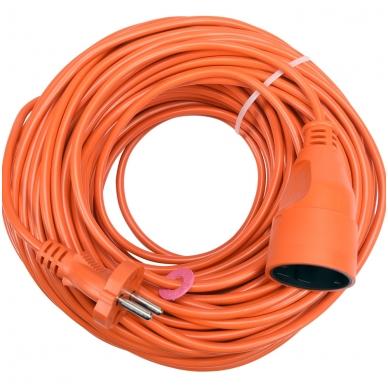 Prailginimo kabelis su lizdu 2x1 mm² 40m 2