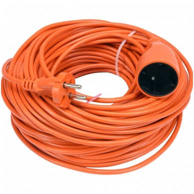 Prailginimo kabelis su lizdu 2x1 mm² 40m