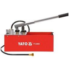Rankinė pompa spaudimo testavimui 50bar  12L YATO