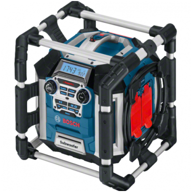 Radijas BOSCH GML 50 Power Box Professional