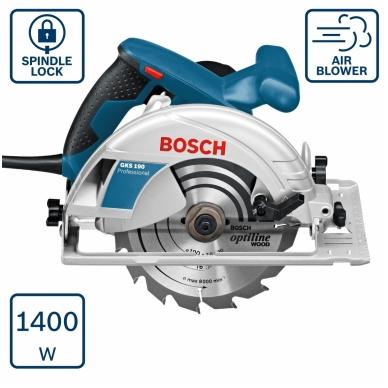 Rankinis diskinis pjūklas Bosch GKS 190 Professional 2