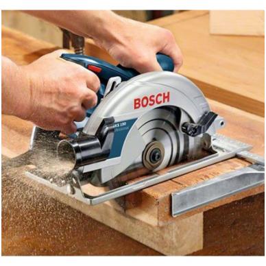 Rankinis diskinis pjūklas Bosch GKS 190 Professional 4