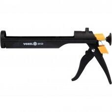 Sandarinimo pistoletas silikonui ir hermetikui 245mm