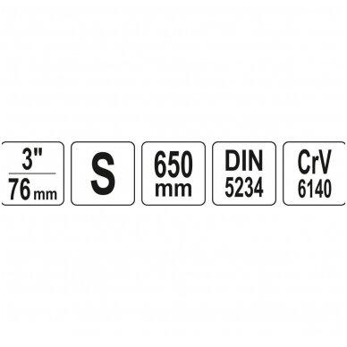 "Santechninis raktas S tipas  3"" 2"