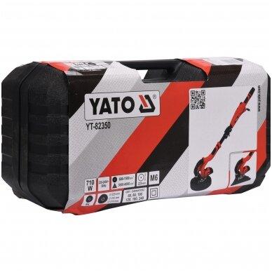 Sienų ir lubų šlifuoklis su trikampiu - žirafa 750W YATO YT-82350 6