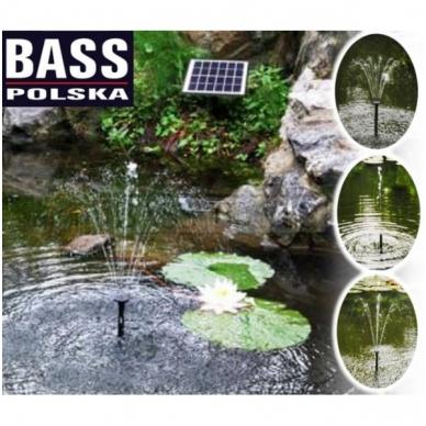 Siurblys fontanui su saulės baterija 2W 6V 2