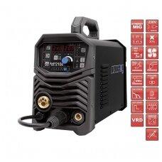 SPARTUS EasyMIG 210S Sinerginis suvirinimo pusautomatis, 200A, 230V