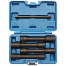 """Specialus ilgų galvučių rinkinys varžtams ir veržlėms 12,5mm(1/2"""") 17-22mm 5vnt."""