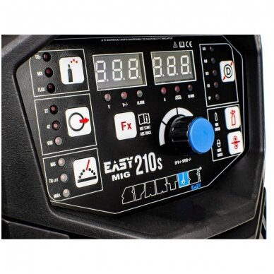 SPARTUS EasyMIG 210S Sinerginis suvirinimo pusautomatis, 200A, 230V 8