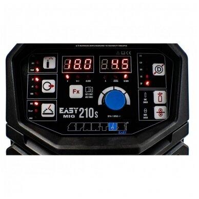 SPARTUS EasyMIG 210S Sinerginis suvirinimo pusautomatis, 200A, 230V 10