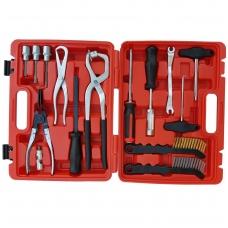 Stabdžių priežiūros ir montavimo įrankių rinkinys 15 vnt.