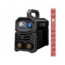 Suvirinimo aparatas SPARTUS® EasyARC 215LCD, 200A, 230V