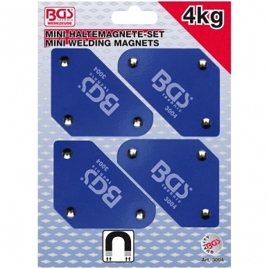 Suvirinimo magnetų rinkinys 4vnt.
