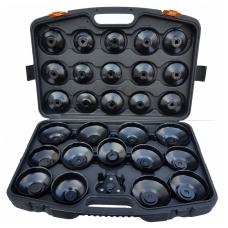 Tepalo filtro raktų - lėkštelių rinkinys su reguliuojamu trikoju raktu 31 vnt