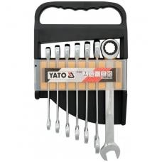 Terkšlinių raktų rinkinys 7 vnt,10-19 mm
