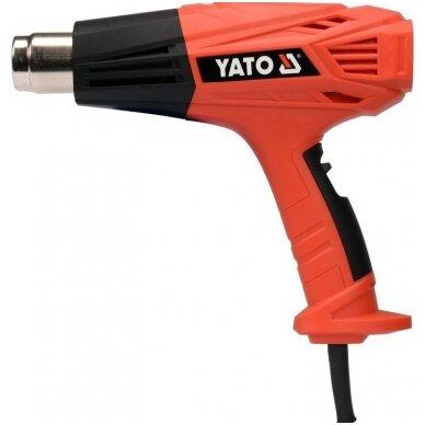 Techninis kaitinimo fenas + plastiko litavimo funkcija 2000W YATO 2