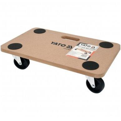 Transportavimo vežimėlis / platforma  500x300 mm  iki 200 kg 2