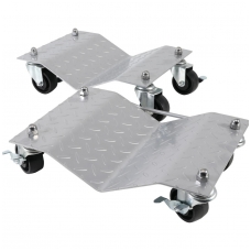Vežimėliai / platformos perstumti automobiliui 2 vnt.